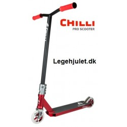 Chilli Pro 5200 Trick Løbehjul Red Silver