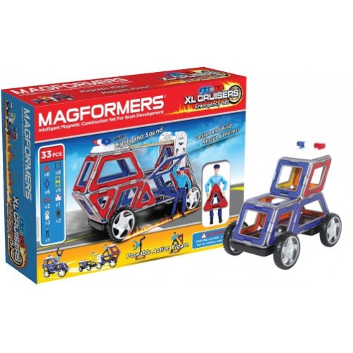 Magformers Emergency XL