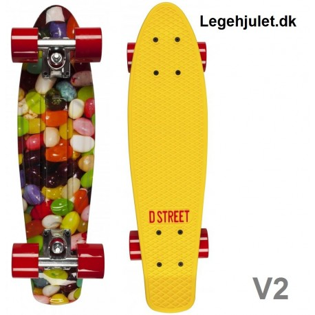Image of   D-Street V2 Polyboard Jellybean