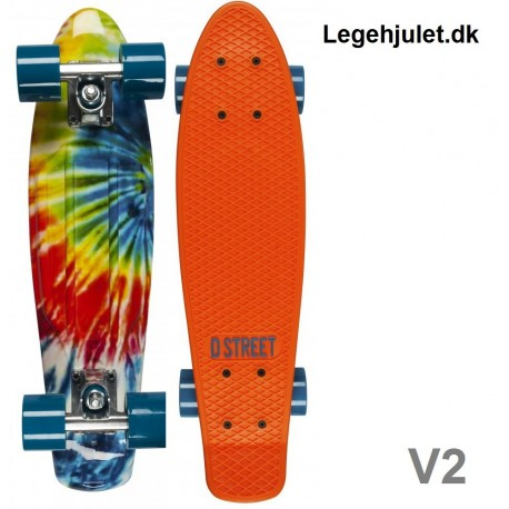 Image of   D-Street V2 Polyboard Orange Tie die