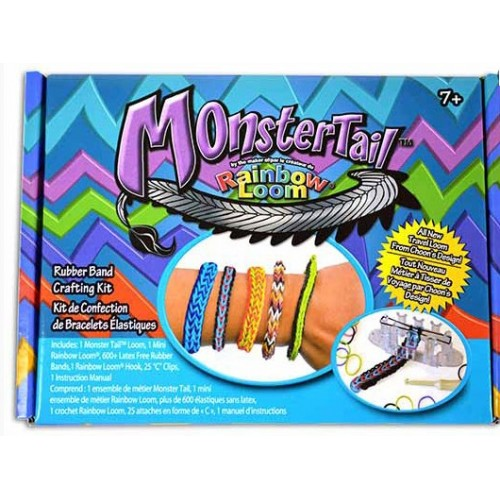 Rainbow Loom Monstertail