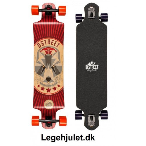 D-Street Longboard Drop Through Bear