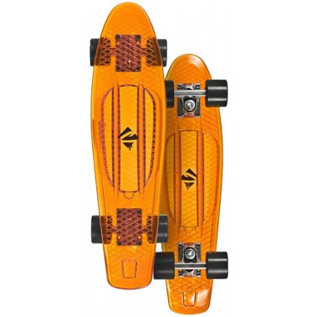 Image of   Juicy Susi Vinyl Board Orange gennemsigtig