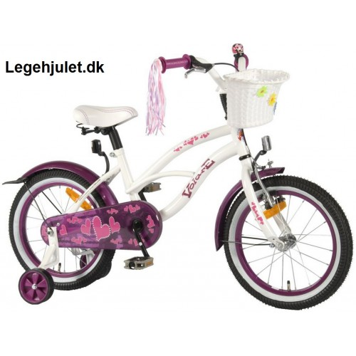 Volare Heartbeat 16 tommer pige cykel