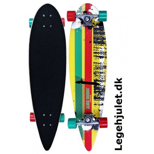 Longboard Tropical Funk Black Dragon