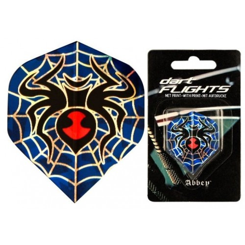 Dart Flight Blue Spider Abbey Dart