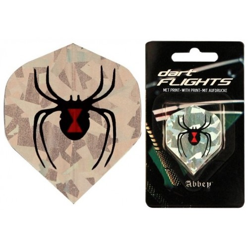 Dart Flight Black Spider Dart
