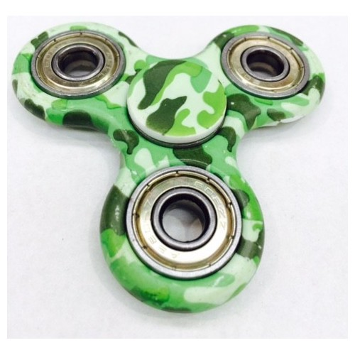 Fidget Spinner Camo Light Green