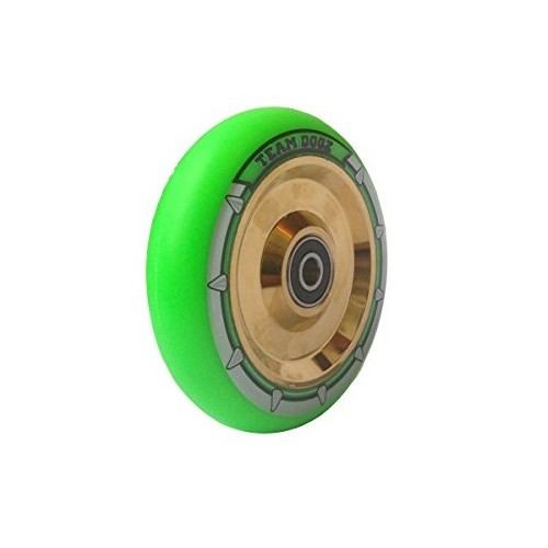 Team Dogz Hollow 100 mm Hjul Green/Gold