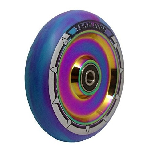Team Dogz Hollow 100 mm Hjul Purple/Rainbow
