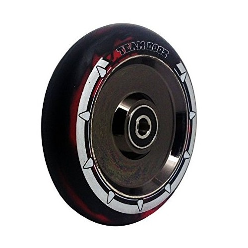 Team Dogz Hollow 100 mm Hjul Red Black