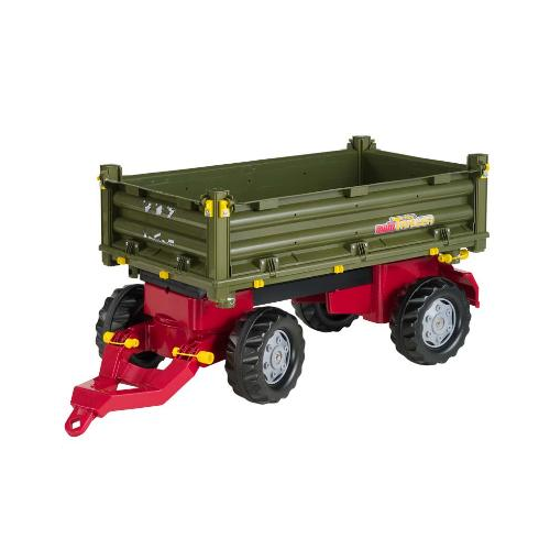 rolly toys multi trailer grøn