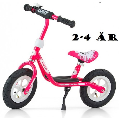Image of   Løbecykel Dusty Pink fra Milly Mally 2 - 4 år