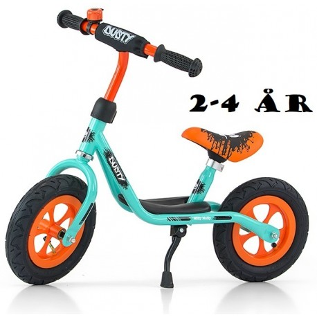 Image of   Løbecykel Dusty fra Milly Mally 2 - 4 år Pistaccio Orange