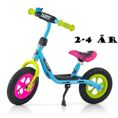 Image of   Løbecykel Dusty Multi Color fra Milly Mally 2 - 4 år