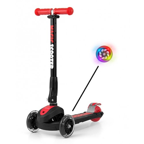 Magic Scooter Trehjulet RED fra Milly Mally