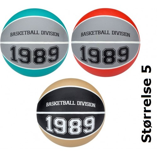 New Port BasketBall 1989 Str 5 til salg