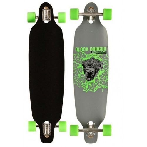 Black Dragon Longboard Drop Through APE