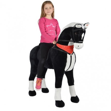 Image of   Amadeus STOR XXL 105 cm Hest med kan ride på by Pink Papaya