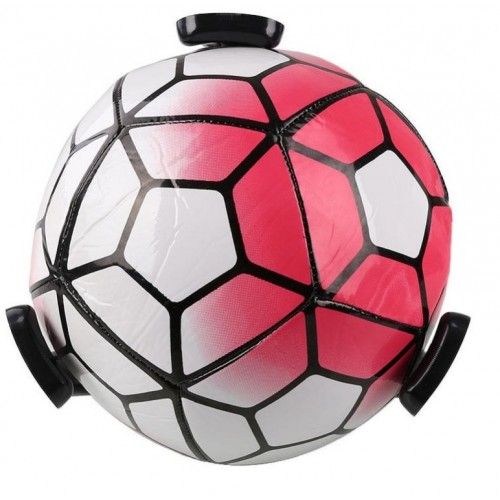 Ball ON Wall - Plastik KLO Sort - Fodbold Basketball holder
