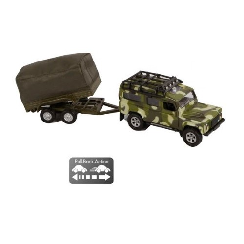 Landrover Defender Safari Kids globe