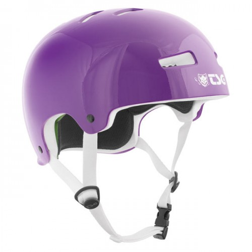 TSG Evolution Skaterhjelm WMNS Gloss Purple