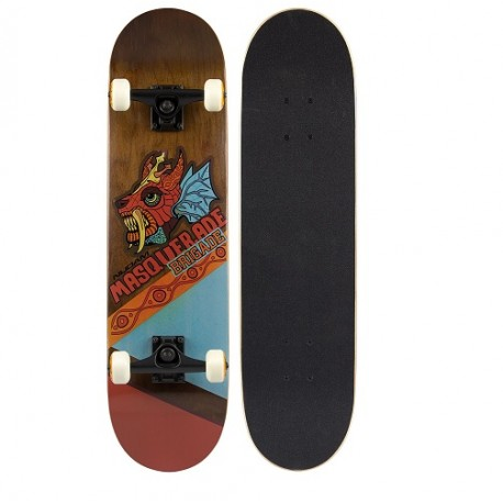 Image of   MASQUERADE BRIGADE Skateboard Dragon